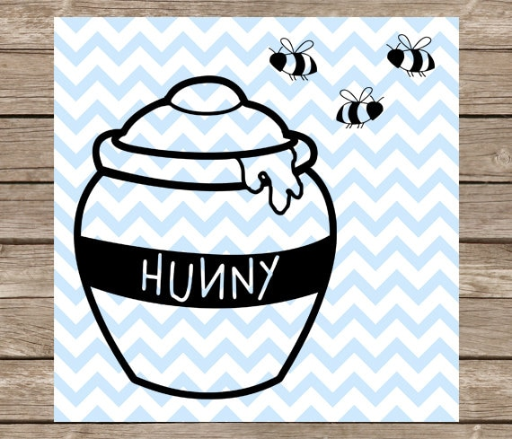 Disney Svg Winnie Lourson Svg Miel Pot Svg Honey Pot Svg Etsy
