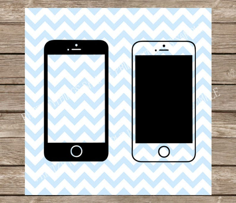 Cell Phone svg, iphone, smart phone, svg files for cricut, svg designs, svg  silhouette, cell phone clipart, svg files, silhouette cameo, dxf