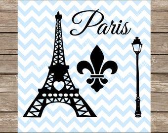 Eiffel Tower Svg, paris svg, fleur de lis svg, bundle svg, france svg, paris love, french svg, svg, svg files for cricut, silhouette cameo