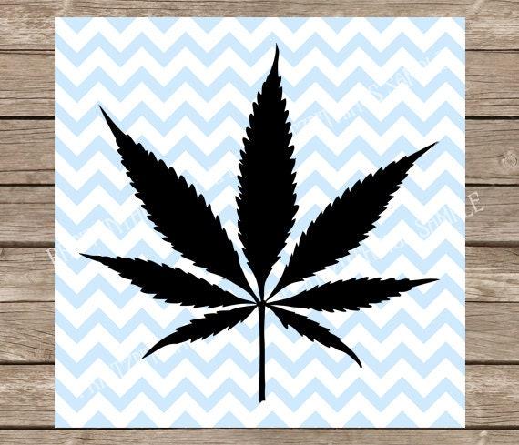 Weed Svg Cannabis Leaf Weed Leaf Svg Marijuana Svg Pot Etsy