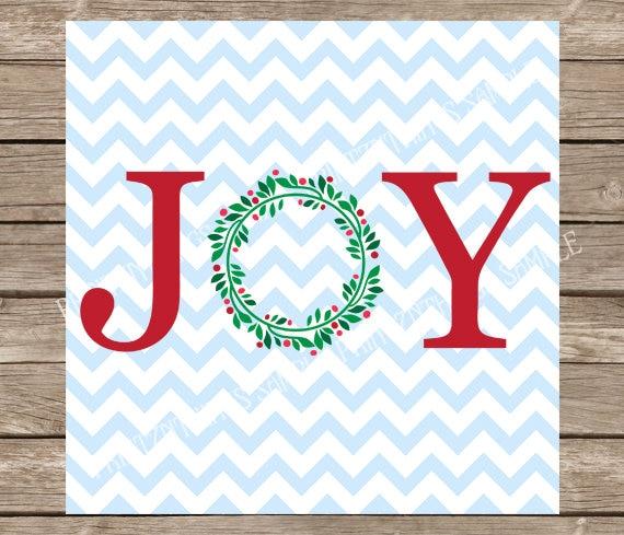 Download Joy svg Christmas svg svg svg files for cricut Wreath svg ...