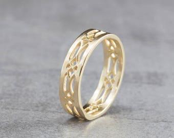Celtic Wedding Ring Etsy Bertemuco