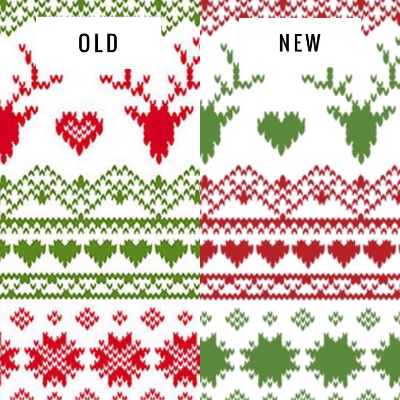 2354ae5dd Fair Isle Infant Christmas Outfit Red & Green Personalized   Etsy