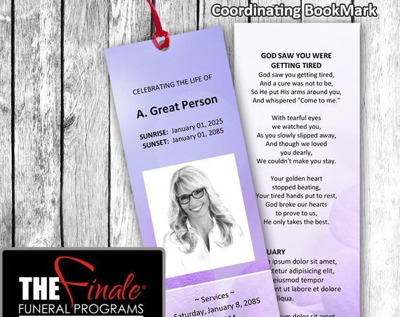 UNDERSTATED ROYALTY PURPLE BookMark ... (matching printable bookmark template) Microsoft Word Document