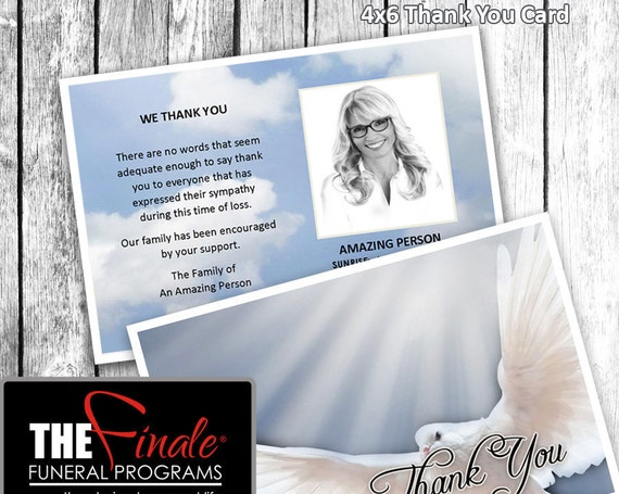 4x6 Thank You Card HEAVENLY DOVE BLUE ... Microsoft Word Document
