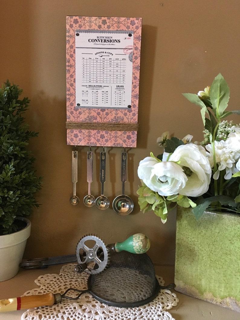 Kitchen Conversion ChartSpoon Set