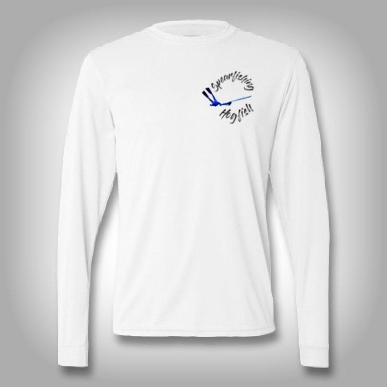 Spear Fishing Hog Fish  Mens Womens Unisex Solar Performance Custom Graphics Novelty Streetwear Apparel design t-shirt team shirts