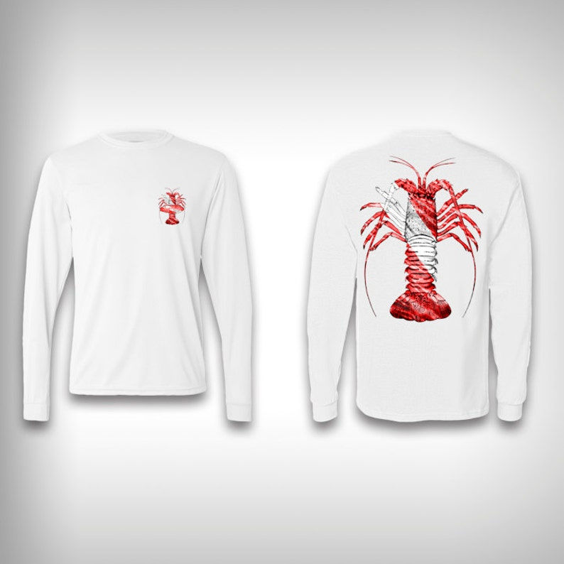 Spiny Lobster Performance Shirts