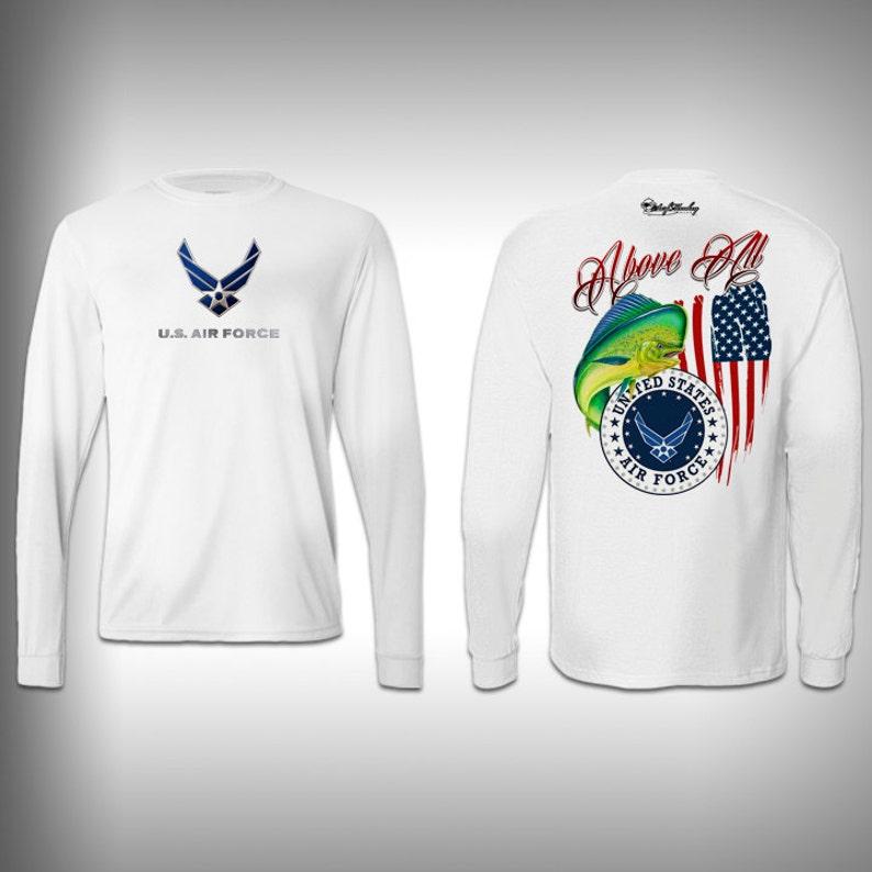 7312f432 Air Force Surf Monkey Sublimate Graphics Custom t-shirt | Etsy