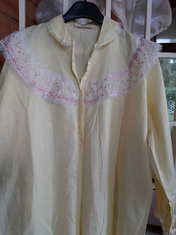 Jane Eyre nightgown nightgown nightgown 60s vinta… - image 5