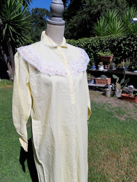 Jane Eyre nightgown nightgown nightgown 60s vinta… - image 9