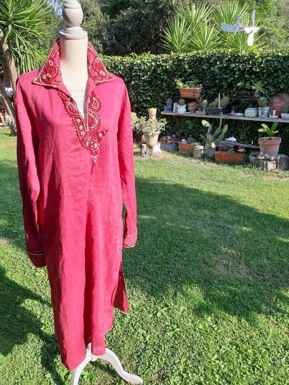 Dress 70s dress woman vintage dress woman India in