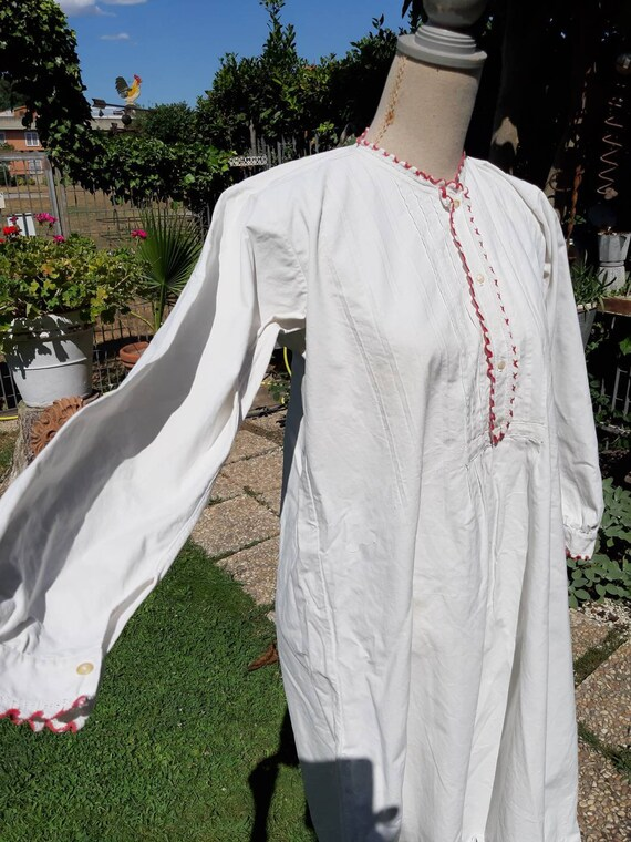 Vintage nightgown rarity 900 cotton farm environme