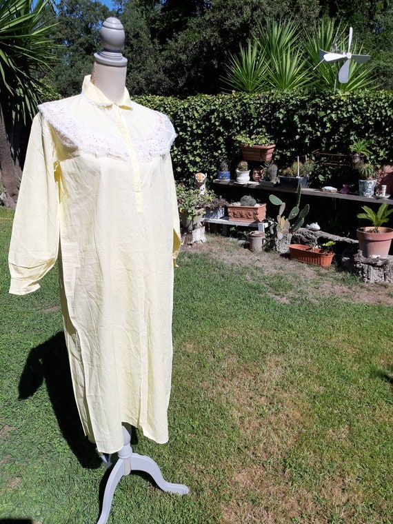 Jane Eyre nightgown nightgown nightgown 60s vinta… - image 6