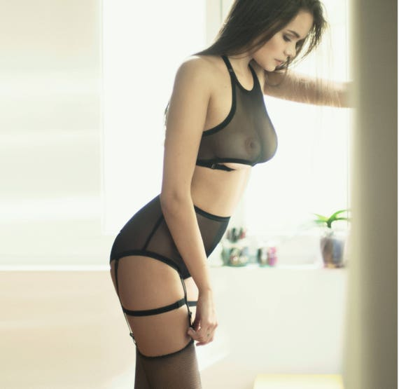 See through lingerie images