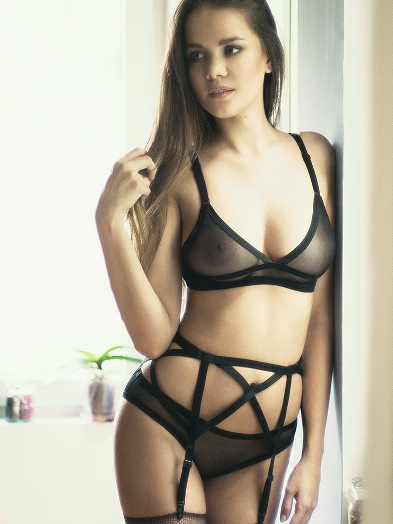 1d2efe6c7 Sheer Bra Sexy Lingerie See Through Lingerie Women