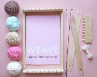Wooden Weaving Loom Kit (Ice Cream)