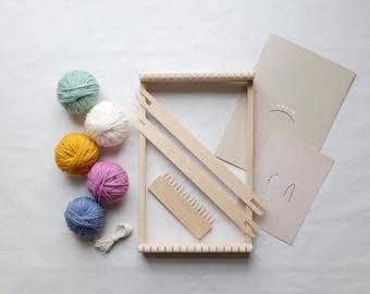 Weaving Loom Kit, Muted