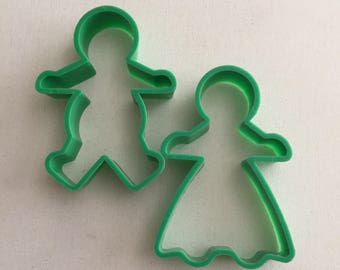 Gingerbread Man Ginger Bread Woman Cookie cutter