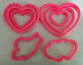 Valentine Heart Cookie Cutters