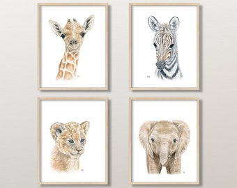 Safari Jungle Portraits