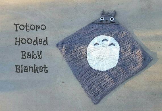 Totoro Hooded Baby Blanket