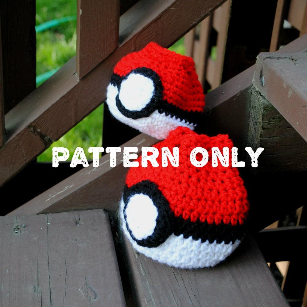 Pokeball Dice Bag Crochet Pattern Etsy