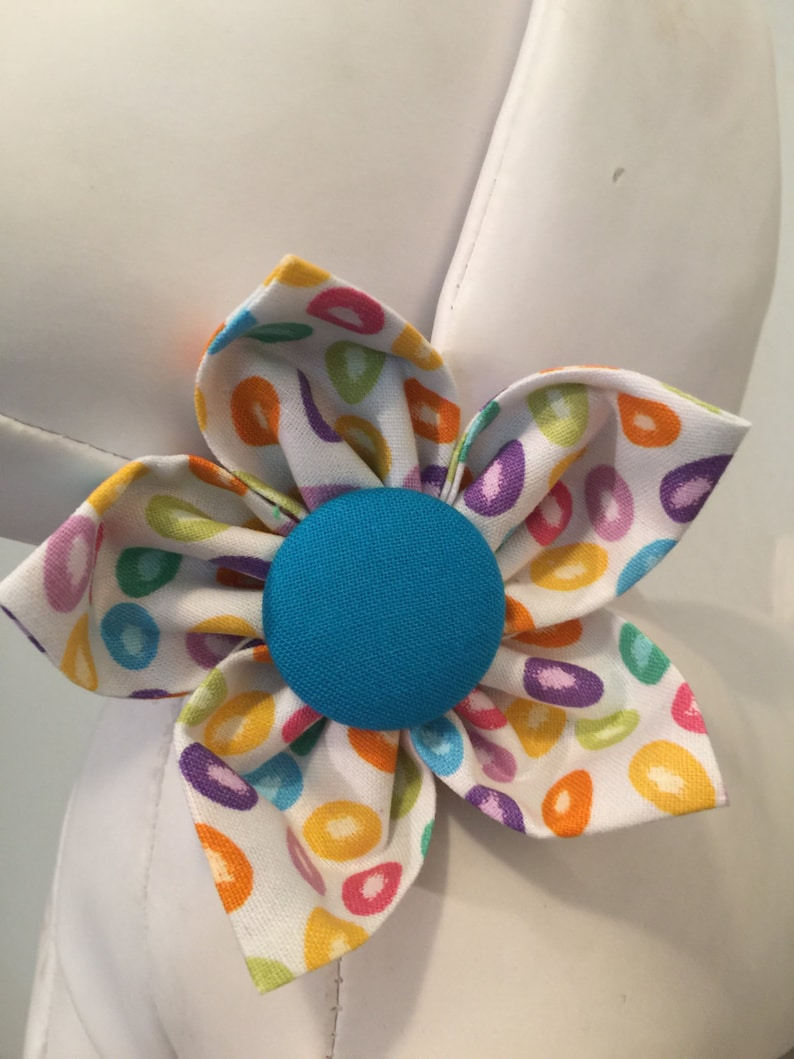 EASTER Flower Collar Attachment & Accessory for Dogs and Cats image 0