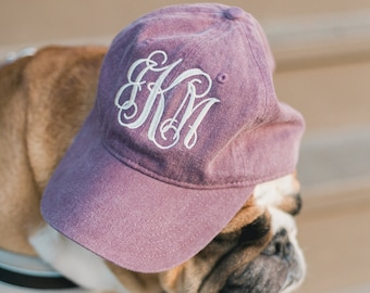 b8b1c7a6 Monogram Hat Womens Personalized Baseball Cap D2