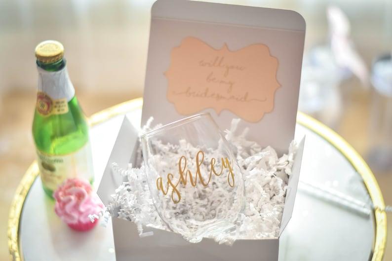 Will you be my Bridesmaid Gift  Bridesmaid Proposal  image 1