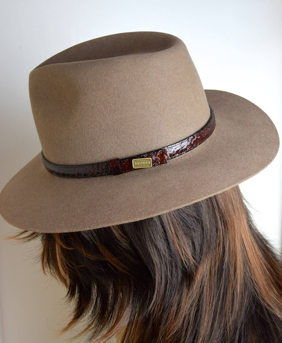 THE AKUBRA Heritage Collection Banjo Paterson Pure Fur Felt  3ca7190f3983
