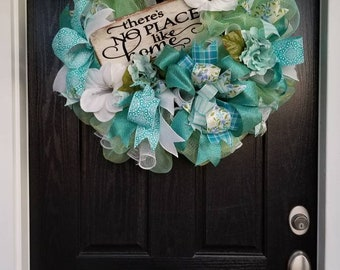 There's No Place Like Home Wreath