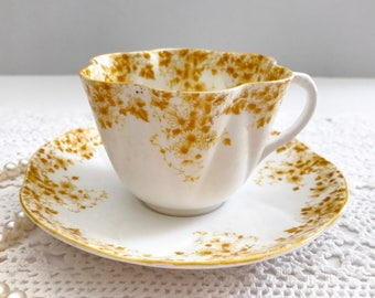 Shelley Dainty Yellow Tea Cup & Saucer
