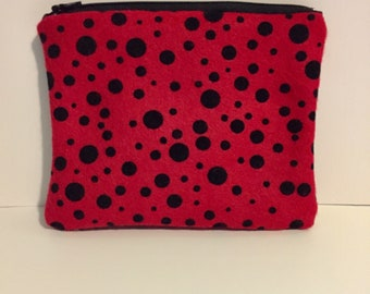 Coin purse, zipper coin purse, coin pouch, zipper pouch