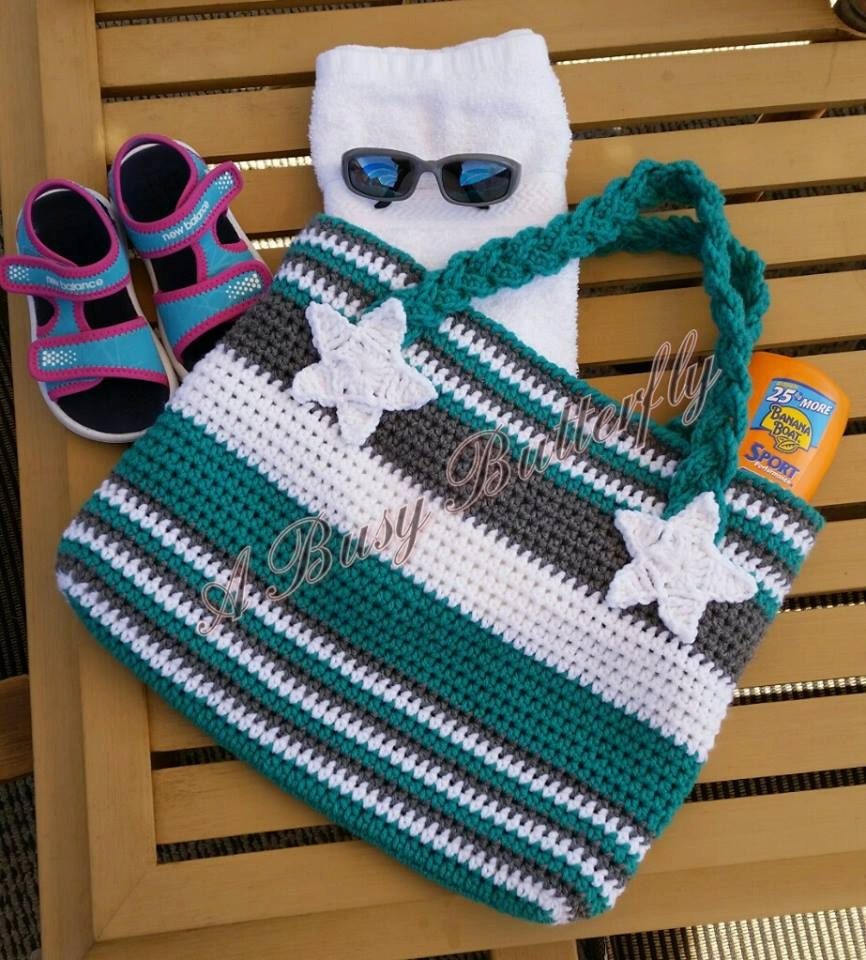 Crochet Pattern Roxys Big Ole Ball Sack Tote Bag Purse Etsy