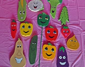 Fruit and Veggie Garden Markers