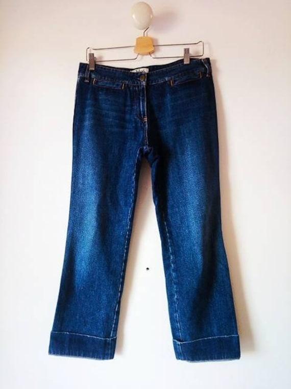 Vintage 90s Chloe' blue jeans - image 3