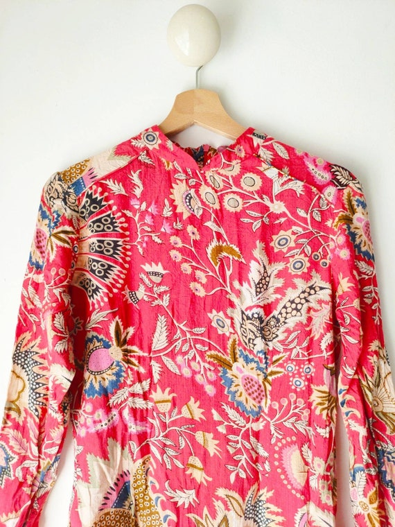 Vintage cotton gauze little dress