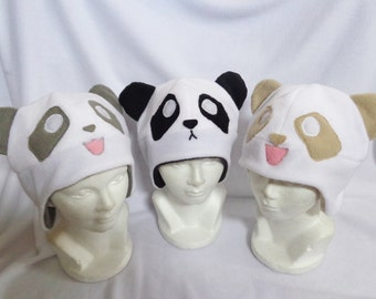 Panda hat  bee09b6b0