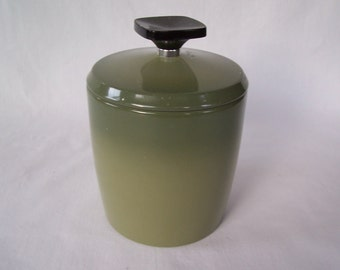 Vintage Grease Can Tea Canister Westbend USA        S452