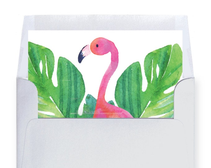Printed Envelope Liners // Made to Match our COCONUT GROVE collection