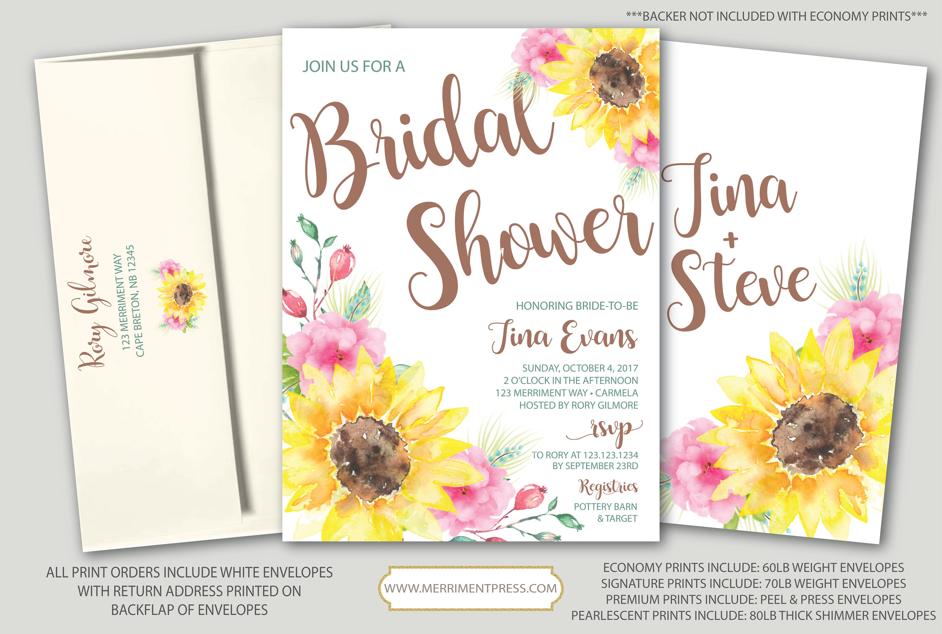 Rustic sunflower bridal shower invitation fall in love fall rustic sunflower bridal shower invitation fall in love fall bridal shower invitation yellow pink tuscany collection filmwisefo
