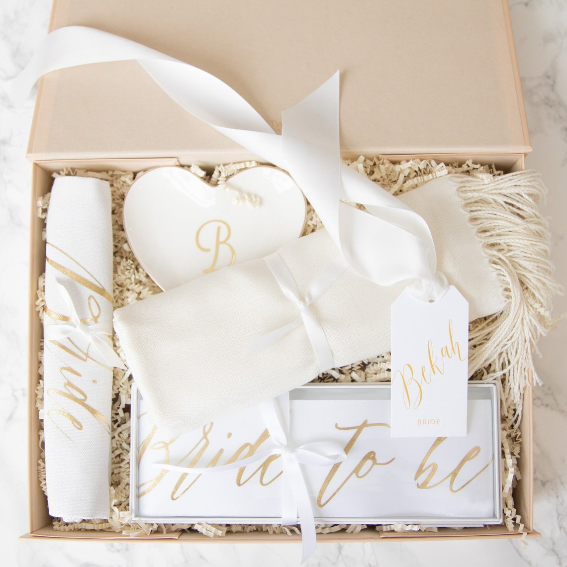 Bride Personalised Keepsake Gift Box