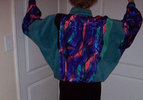 Leather/ Suede/ Snakeskin/ Fabric Jacket Made in I