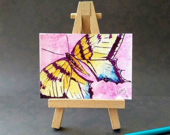 Butterfly ORIGINAL ACEO