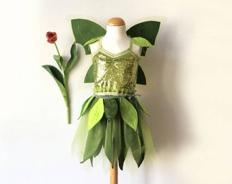 Tinkerbell, Kids Costume, Costume, Fairy, Princess Carnival Costume, Halloween, Carnival Costume, Bookday, worldbookday,