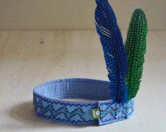 Federband, blau