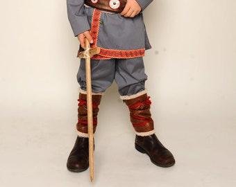 Kostümhose für Pirat & Wikinger