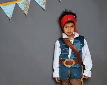 Pirate, Musketeer, Pirate Costume, Pirate Child Costume, Mozart, Rococo, Baroque, Costume, Children's Carnival Costume, Children's Pirate