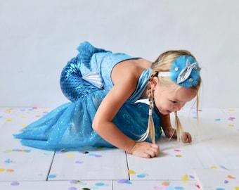 Meerjungfrau Kostüm SET